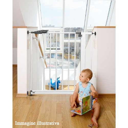 Cancelletto sicurezza per bambini allungabile safety gate for Cancelletto sicurezza bambini
