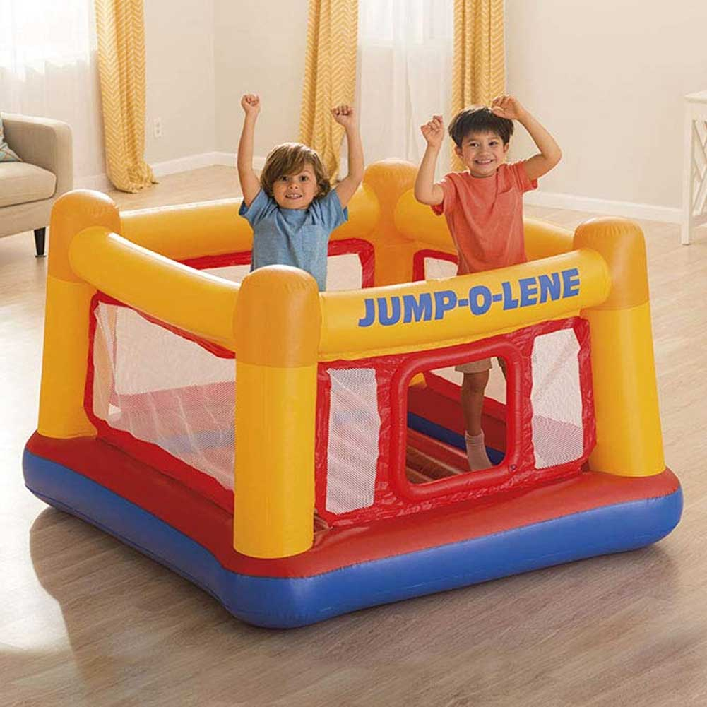 Play House Jump o Lene Gonfiabile per Bambini  Playcenter 174x174x112cm Intex .