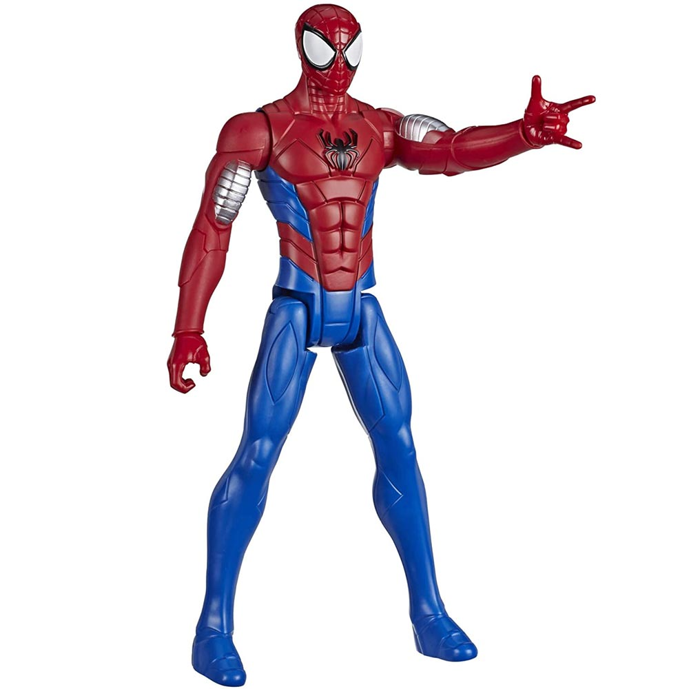Action Figures Marvel Personaggio Spiderman Armored Titan Hero Series Snodato.