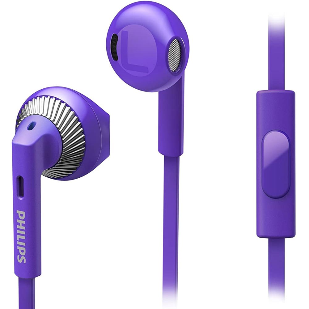 Cuffie Auricolari Stereo Philips SHE3205PP/00 TV Mp3 Smartphone Viola Jack 3,5.