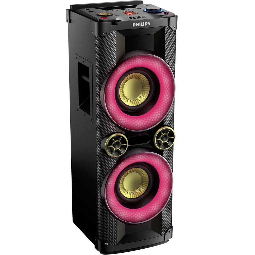 Cassa Altoparlante Speaker a Torre Bluetooth 1000W Luci LED Mp3 USB CD Philips.