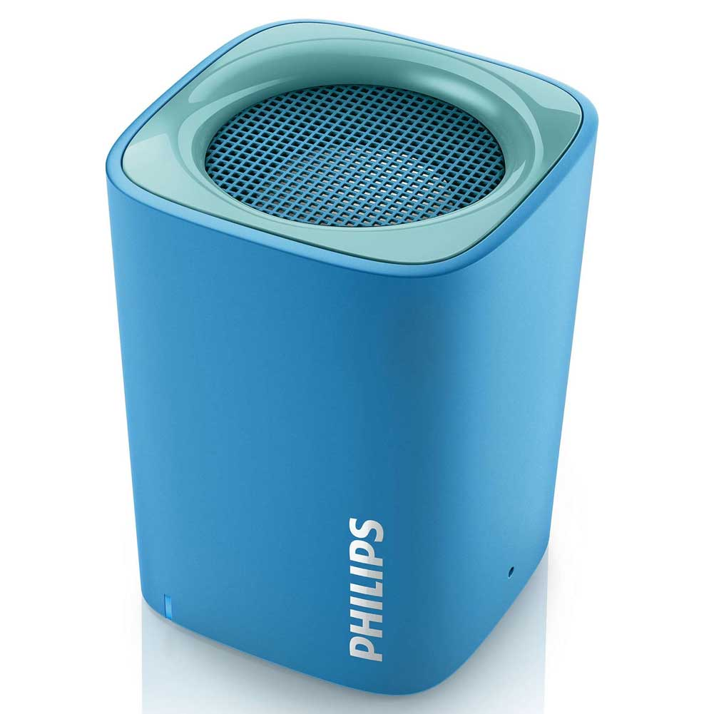 Cassa Speaker Bluetooth Wireless Altoparlante Portatile Microfono Philips Blu.