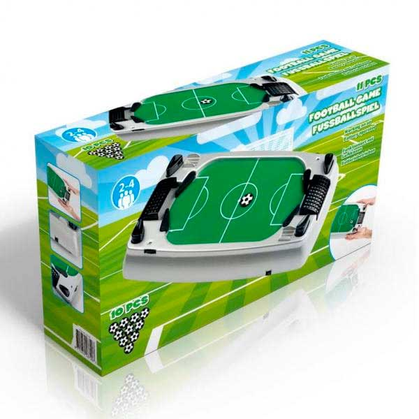 MINI FLIPPER CALCIO BALILLA DA TAVOLO TABLE FOOTBALL GAME FINO A 4 GIOCATORI.