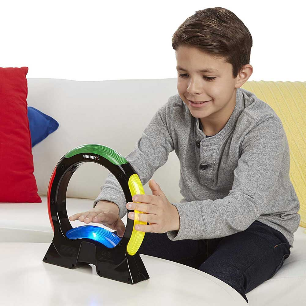 Hasbro Gioco Simon Air Elettronico Tecnologia Touch Free Gioco Movimenti Societa.