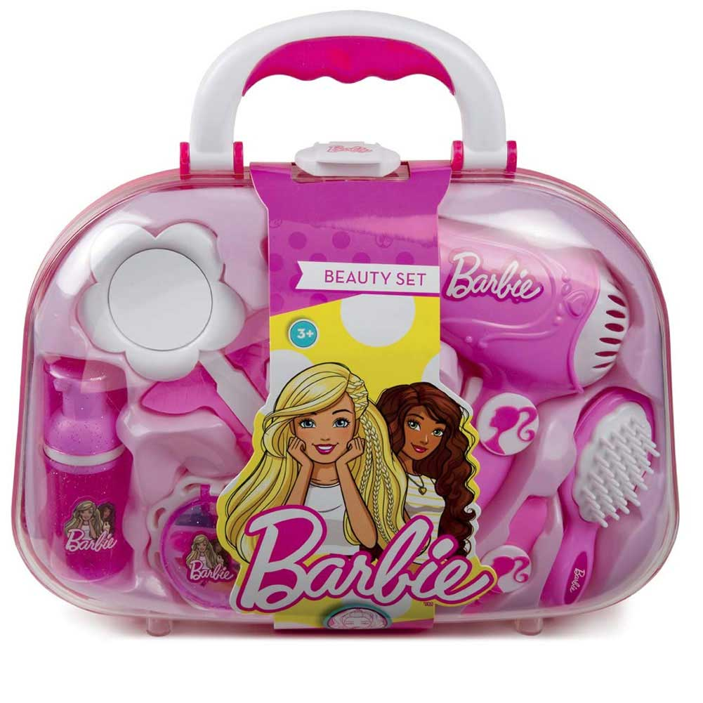 Grandi Giochi Beauty Set Bellezza Barbie Borsetta Accessori Specchio GG00570.