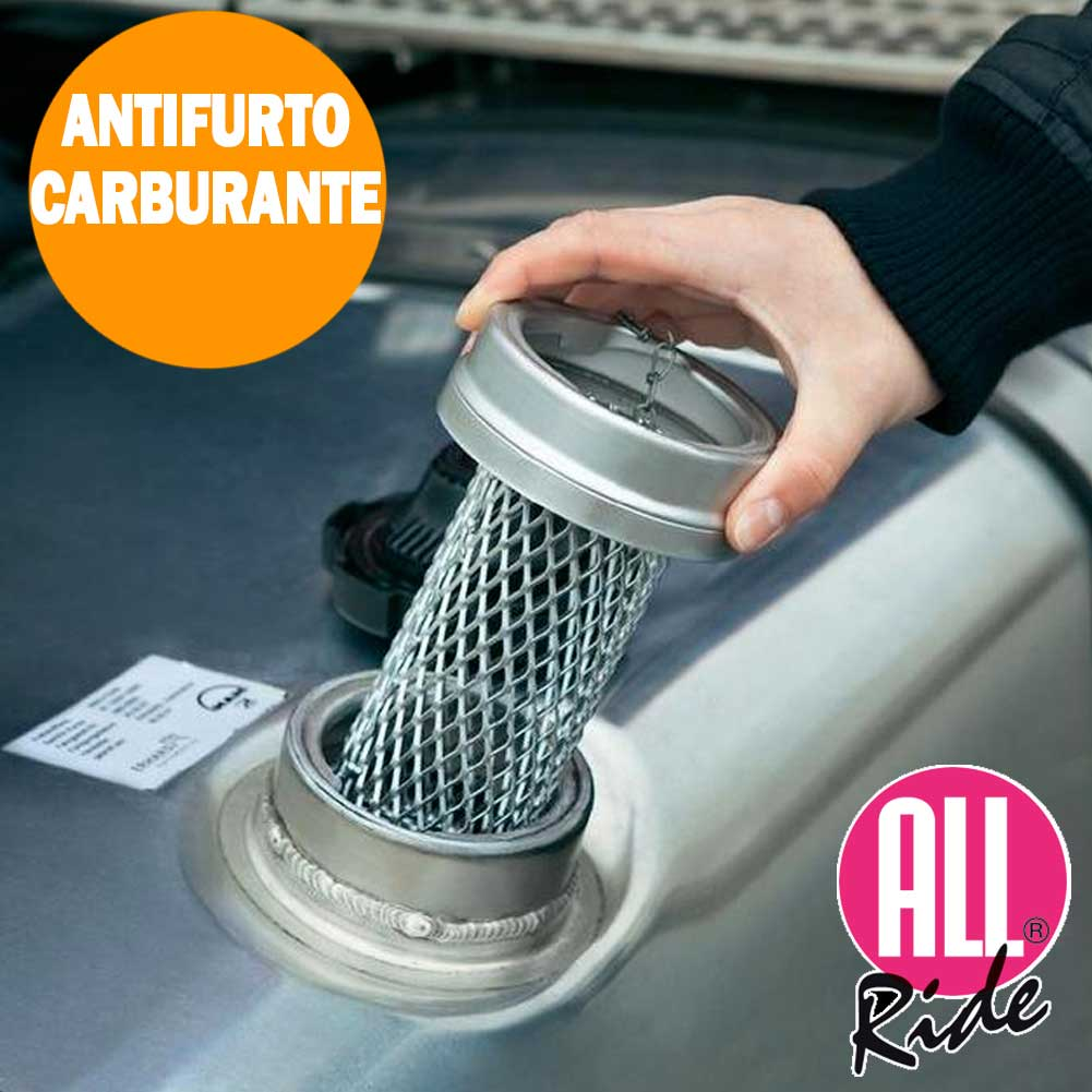 Antifurto Carburante All Ride Griglia 160mm Blocco Garantito Antirapina Benzina.