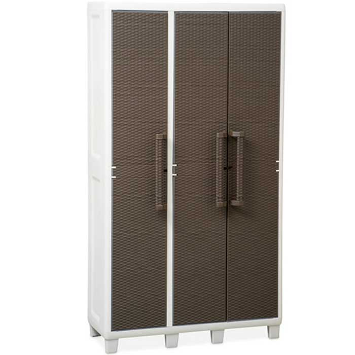 Mobile in resina wood line s 2 ante portascope 65x37x165h for S line esterno