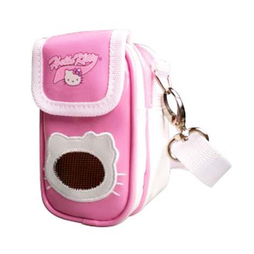 Pochette per iPod o Mp3 Hello Kitty colore Rosa.