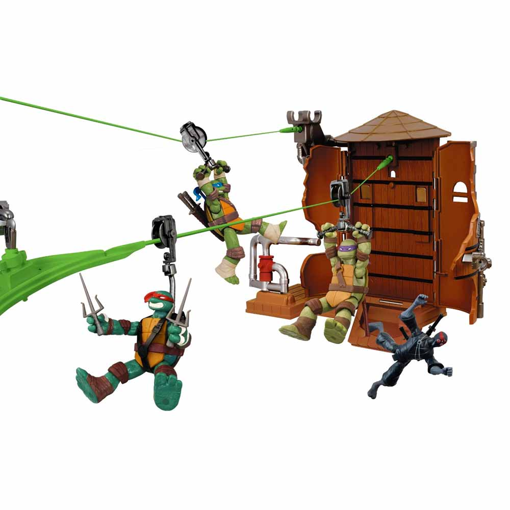 Tartarughe Ninja Teenage Mutant Ninja Turtles Z-Line Water Tower Washout Playset.