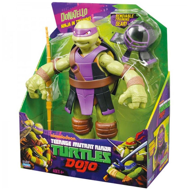 Tartarughe ninja donatello dojo personaggio 30cm teenage for Prezzo tartarughe