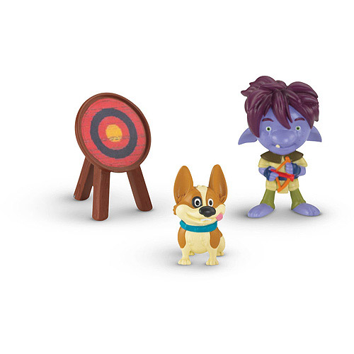 Trollee & Yip Mike The Knight Il Cavaliere Cartone Giocattoli Fisher Price.