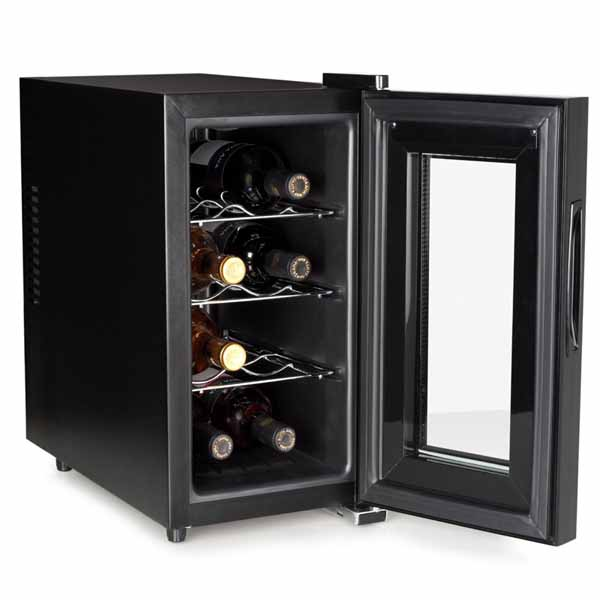 cantinetta mini frigo bar hotel 23l porta 8 bottiglie vino vini spumante tristar bakaji prezzi. Black Bedroom Furniture Sets. Home Design Ideas