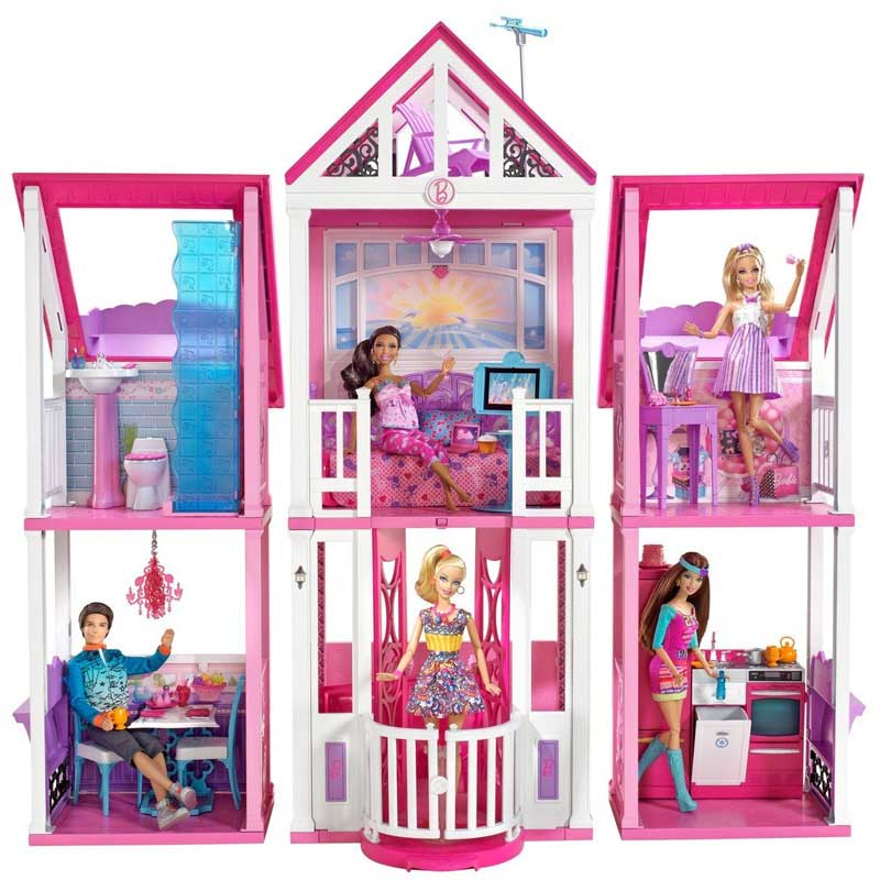 barbie la casa di malibu california dream house nuova