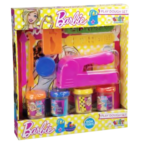 BARBIE MAGIC PLASTILINA PASTA MODELLANTE PREMI E CREA CON TRAFILA E ACCESSORI 3+.