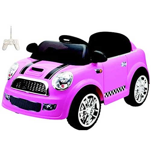 auto fotoapparat elektro f r kinder rosa 12v mp3 mini fahrer mit fernbedienung ebay. Black Bedroom Furniture Sets. Home Design Ideas