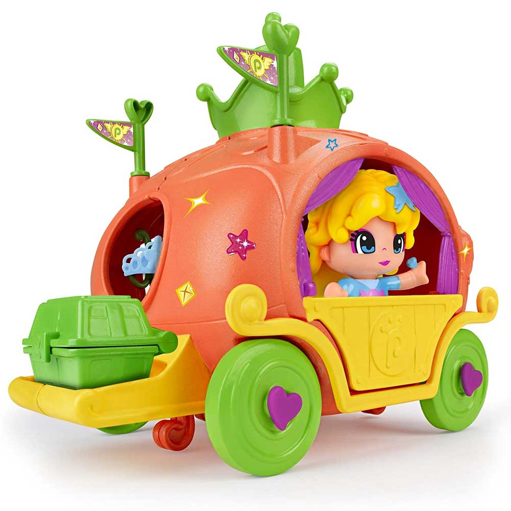 Pinypon Playset Carrozza Cenerentola con Personaggio e Accessori Gioco Famosa   .