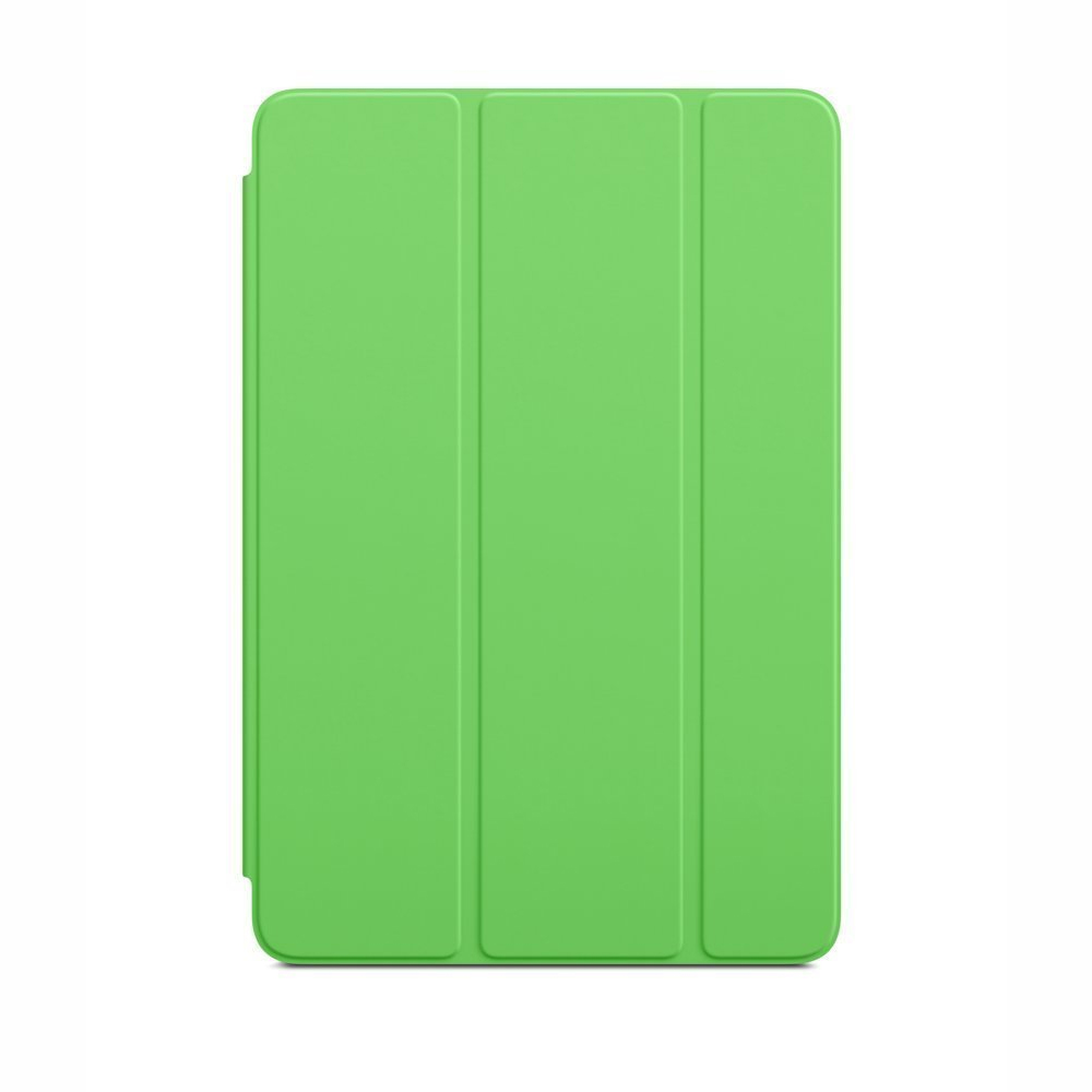 Custodia Smart Cover Per iPad Mini Apple In Poliuretano Verde Pieghevole.