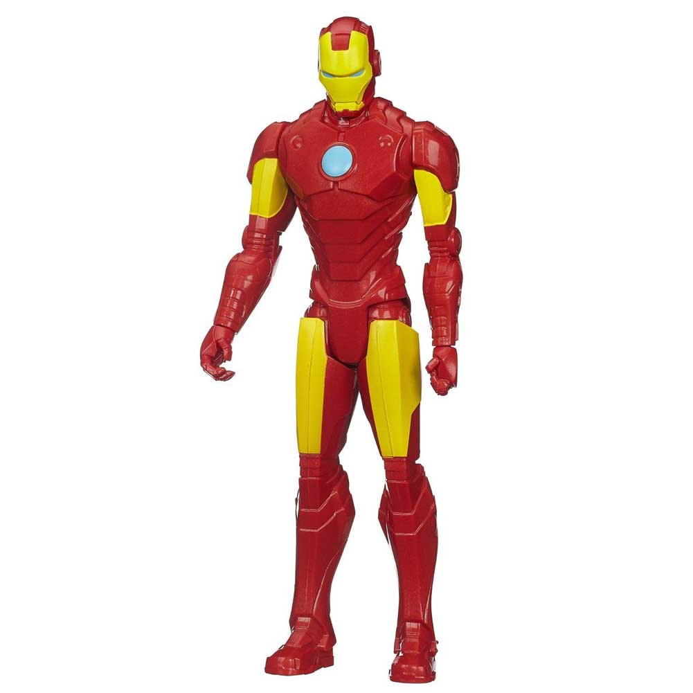 Action Figures Marvel Avengers Iron Man Altezza 30 cm Personaggio Snodato Hasbro.