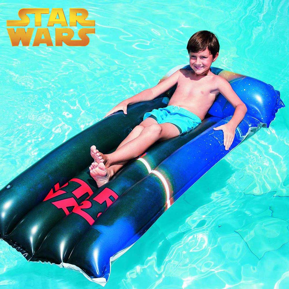 Materassino Mare Piscina Star Wars 191 x 89 cm Multicolore Bestway 91202.