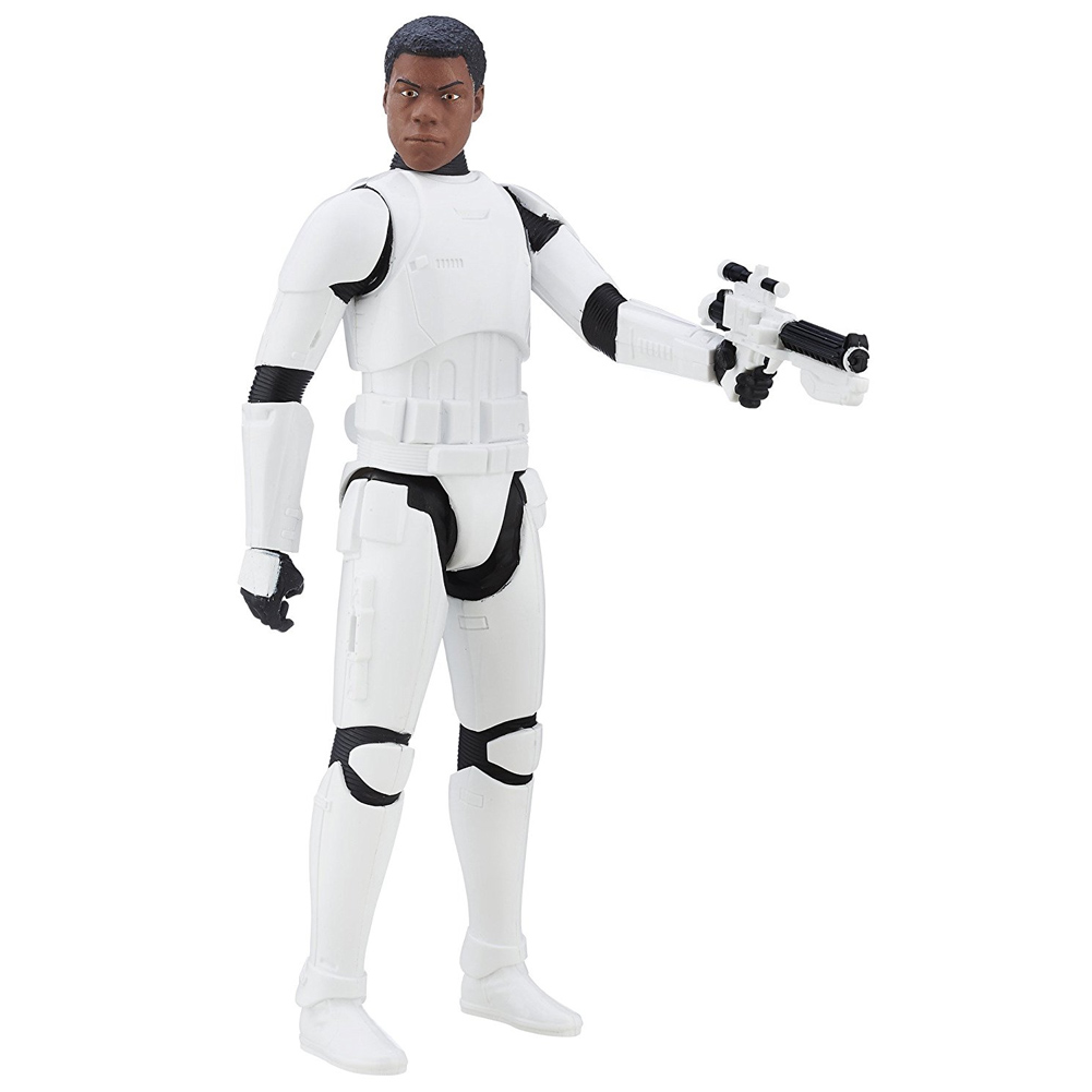 ACTION FIGURE STAR WARS PERSONAGGIO TROOPER FIN ALTEZZA 30CM CON FUCILE HASBRO.