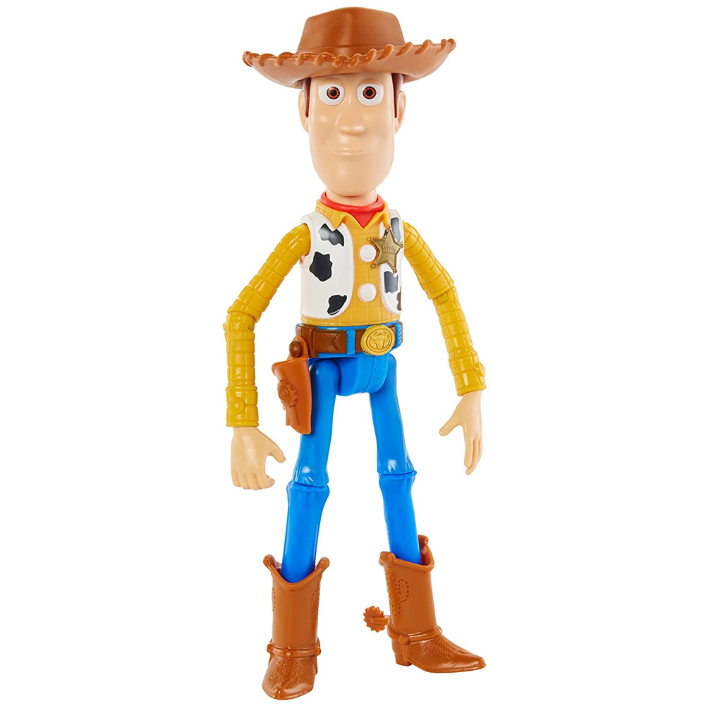 Personaggio toy story woody altezza 30 cm playset unisex snodabile mattel.