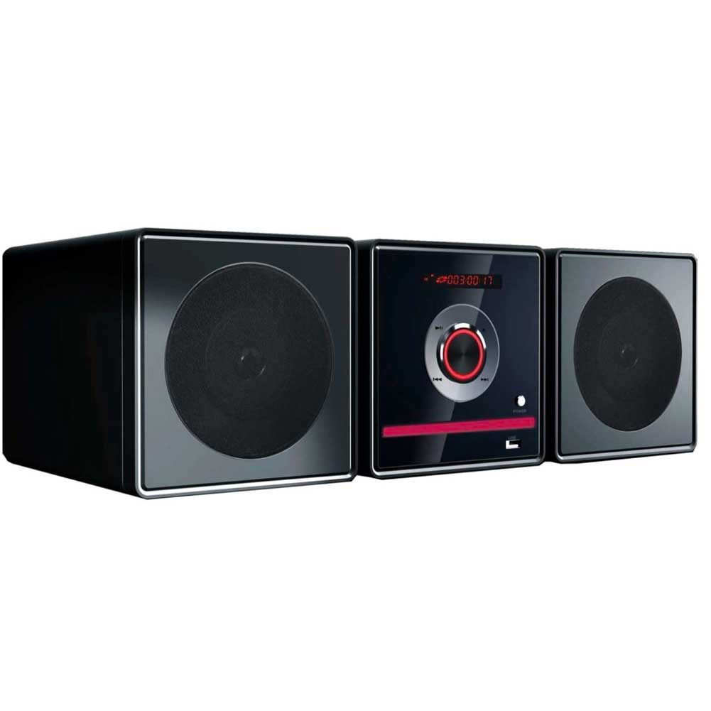 Lettore CD DVD  Bluetooth 2 Casse Altoparlanti 5W Radio FM USB MP3 Telecomando.