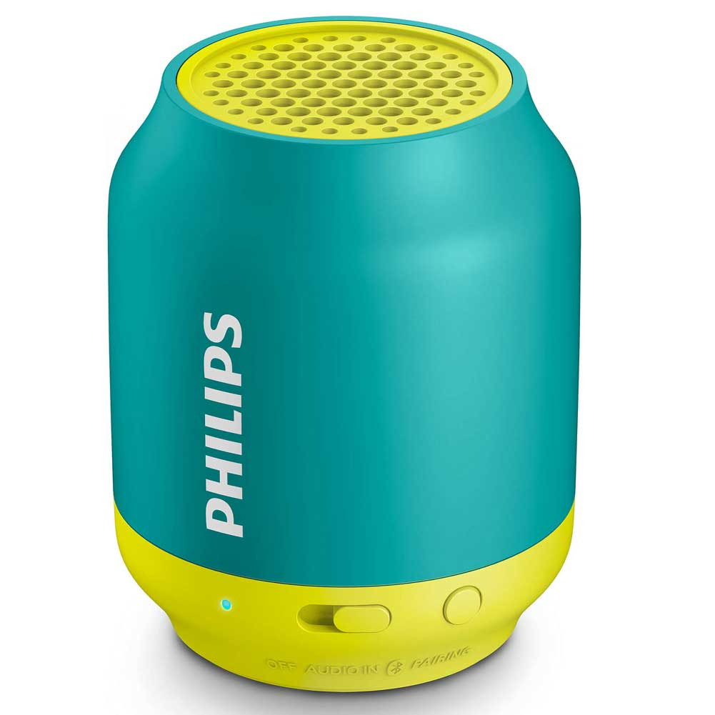 Cassa Speaker Bluetooth Wireless Altoparlante Portatile Smartphone Philips Verde.