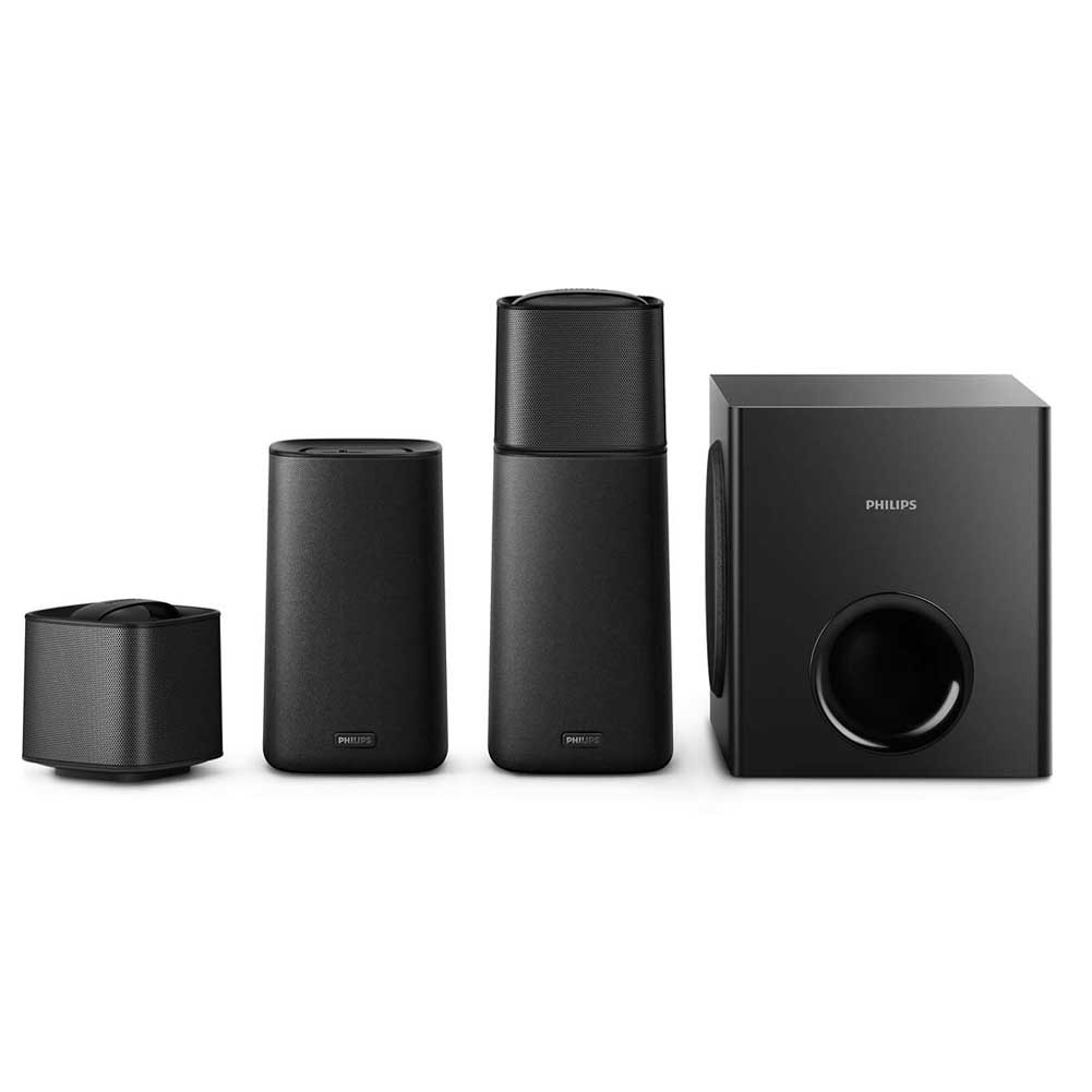 Dolby Surround Home Theatre Wireless Bluetooth Casse Speaker Rimovibile Philips.