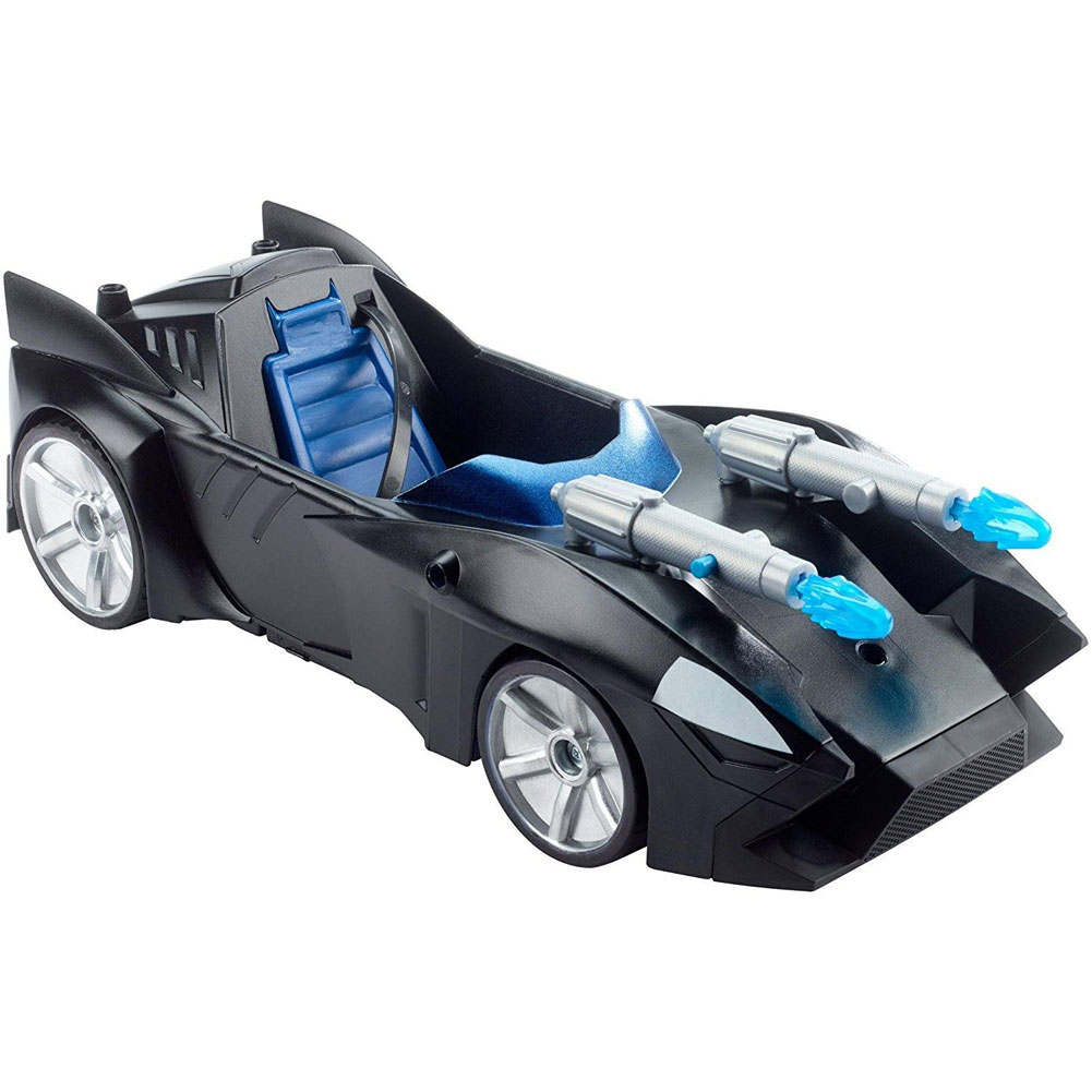 Batmobile Batman Spara Missili Justice League Auto Super Eroi Uomo Pipistrello .