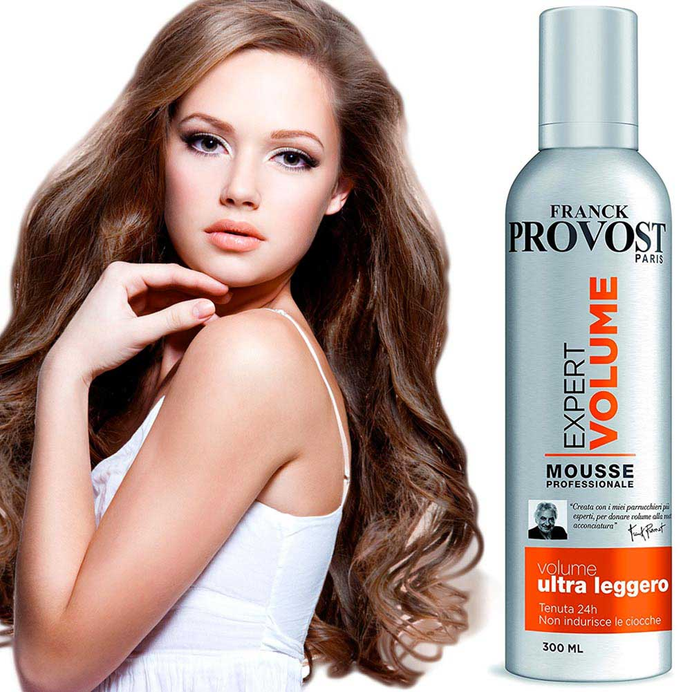 FRANCK PROVOST EXPERT VOLUME MOUSSE STYLING PROFESSIONALE FISSAGGIO FORTE 300 ML.