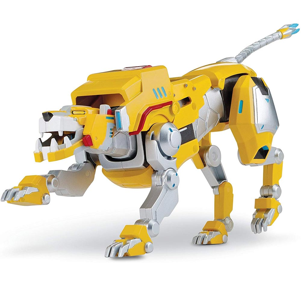 Action figures voltron legendary defender personaggio deluxe leone giallo 20cm.