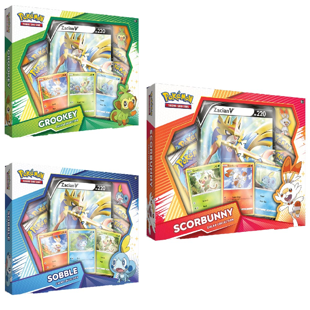 Pokemon spada scudo gioco carte set collezione galar carte starter set assortiti.