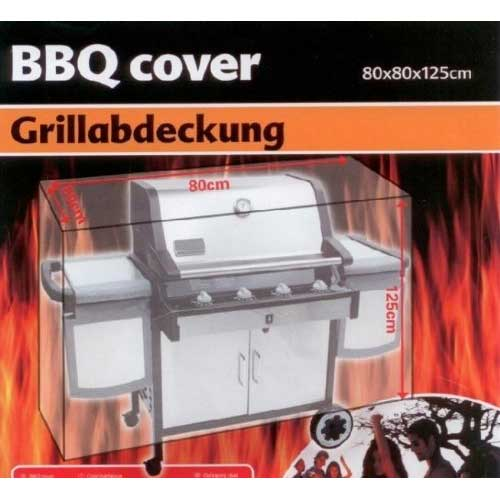 TELO COPRI BARBECUE 80X80X125 CM COVER GRILL CUSTODIA VARI COLORI BBQ COLLECTION.