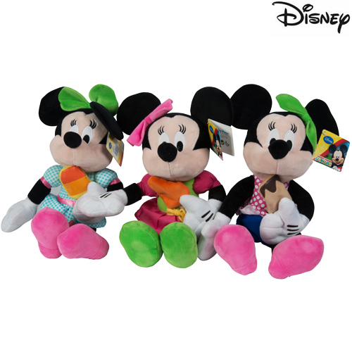 Peluche Minnie Mouse Lolly Treats 30 cm Modelli Assortiti Topolina Disney.