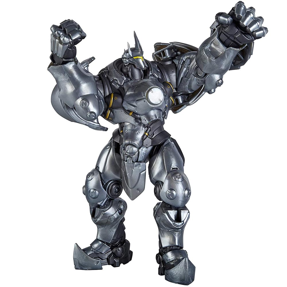 Action figures overwatch ultimates reinhardt giocattolo bambini con accessori.