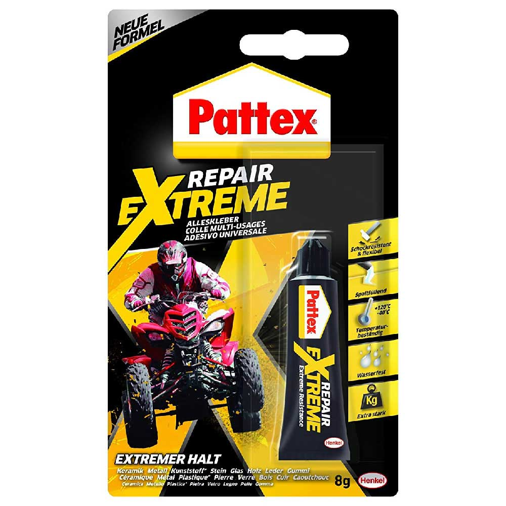Pattex Repair Extreme Colla Gel Tubo 8g 100% Germany Glue Blister .