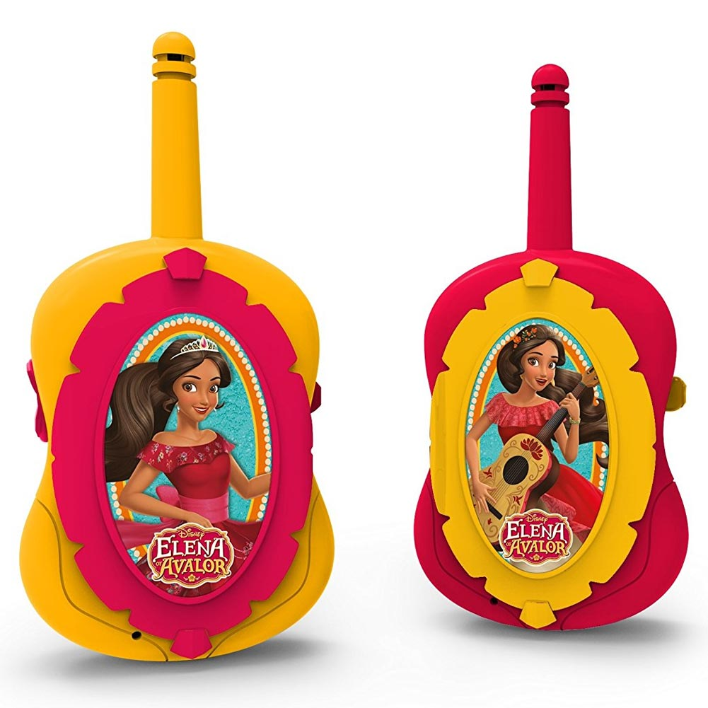 Elena of the avalor walkie talkie imc toys con luce a led e antenna flessibile.
