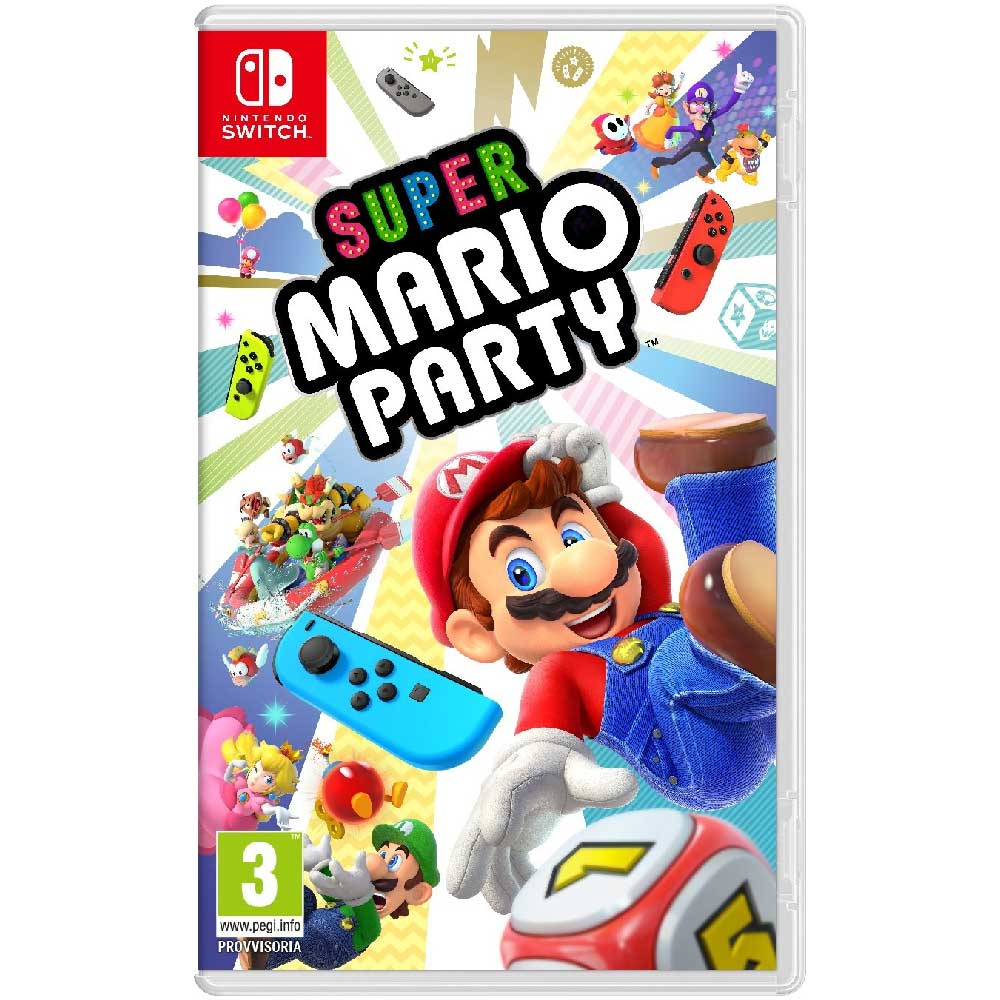 Gioco super mario party standard edition per consolle nintendo switch.