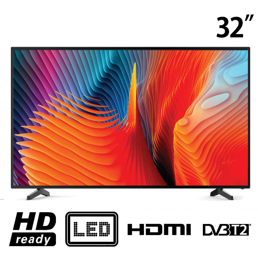 TV LED 32 Pollici HD Ready Bolva ST1711 Televisione - DVB-T2 Mpeg4 USB HDMI.