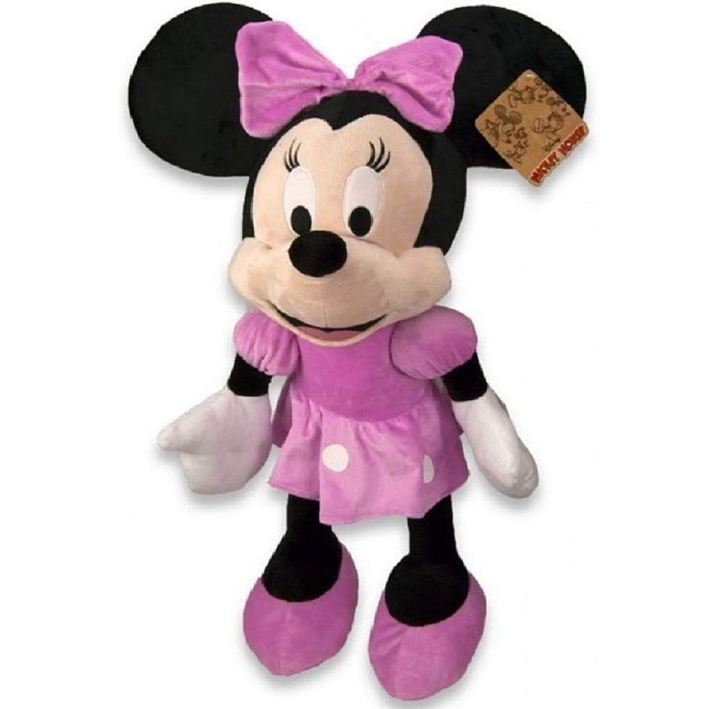 Peluche Topolina Minnie Mouse Club House Gigante Altezza 70 cm Disney	.