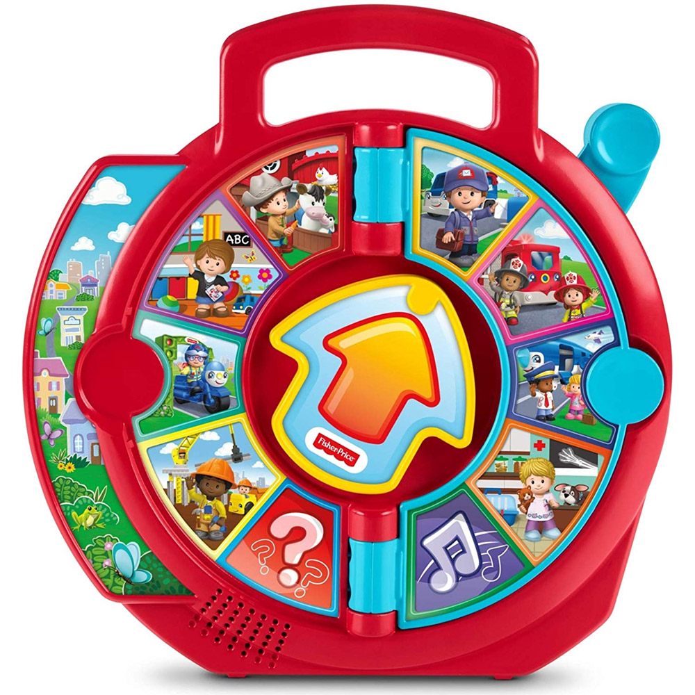 Fisher Price Giocattolo Educativo Little People See' n Say Prima Infanzia Bambin