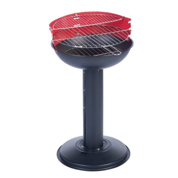 Barbecue a Colonna 66 x 38 cm a Carboni con 2 Piani di Cottura BBQ Collection.