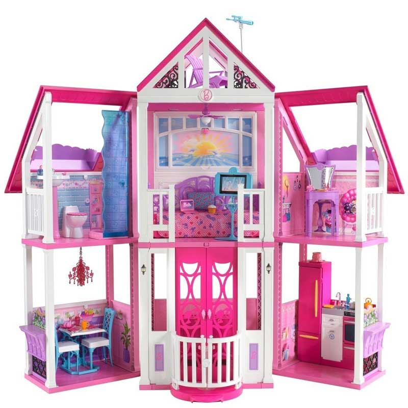 Barbie La casa di Malibu California Dream House Nuova Accessoriata ...