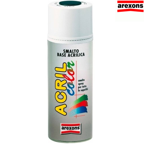 Bomboletta Vernice Spray Acrilica 400 ml Marrone Scuro Arexons 8017 Smalto Bakaji Prezzi in ...