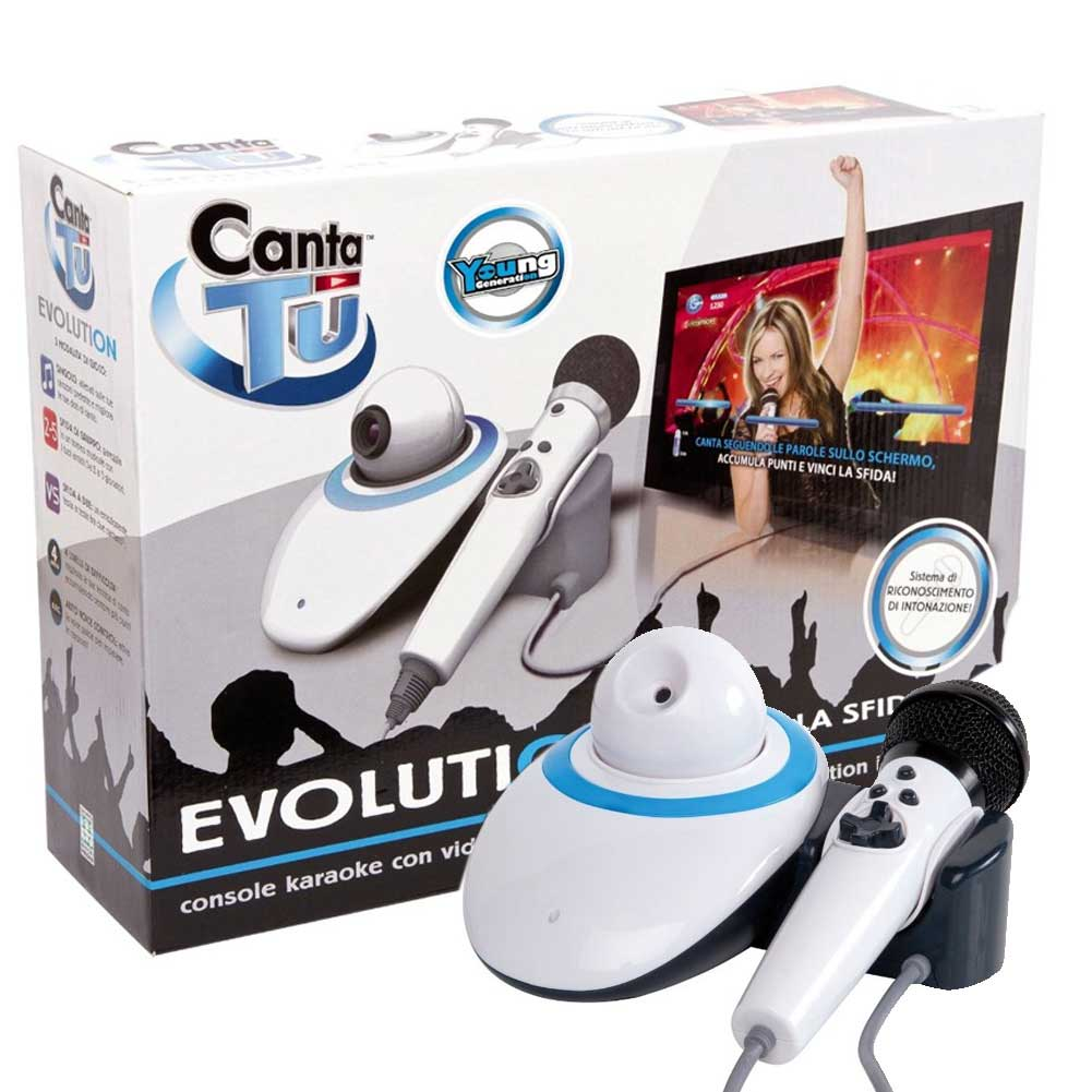 Canta tu evolution young karaoke plus giochi preziosi con for Canta tu prezzo toys