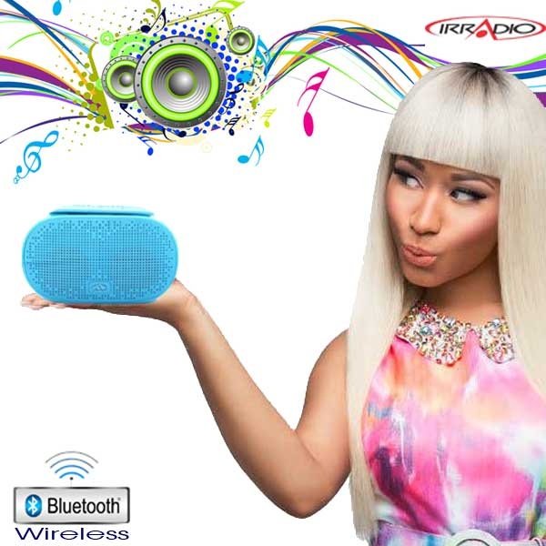 Cassa Wireless B-Sound Bluetooth Riproduttore MP3 integrato Ricaricabile Irradio.