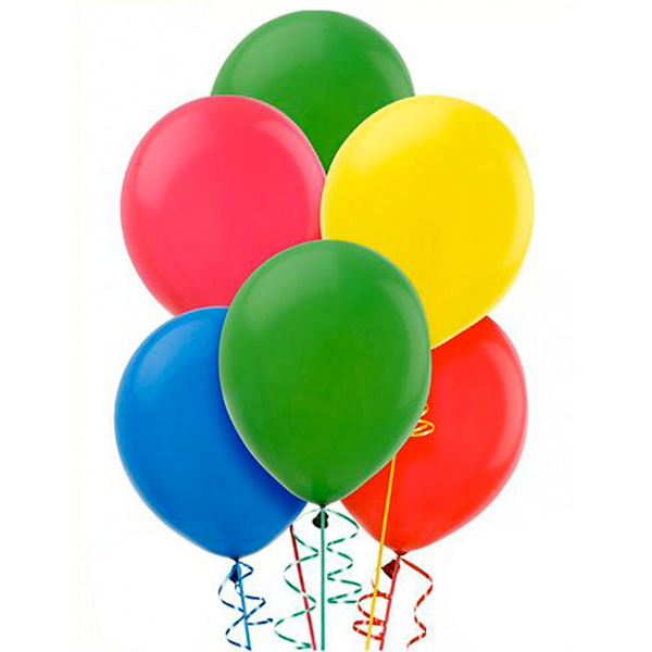 100 pezzi palloncini in lattice 23 cm - 9 inc feste party compleanni multicolore.