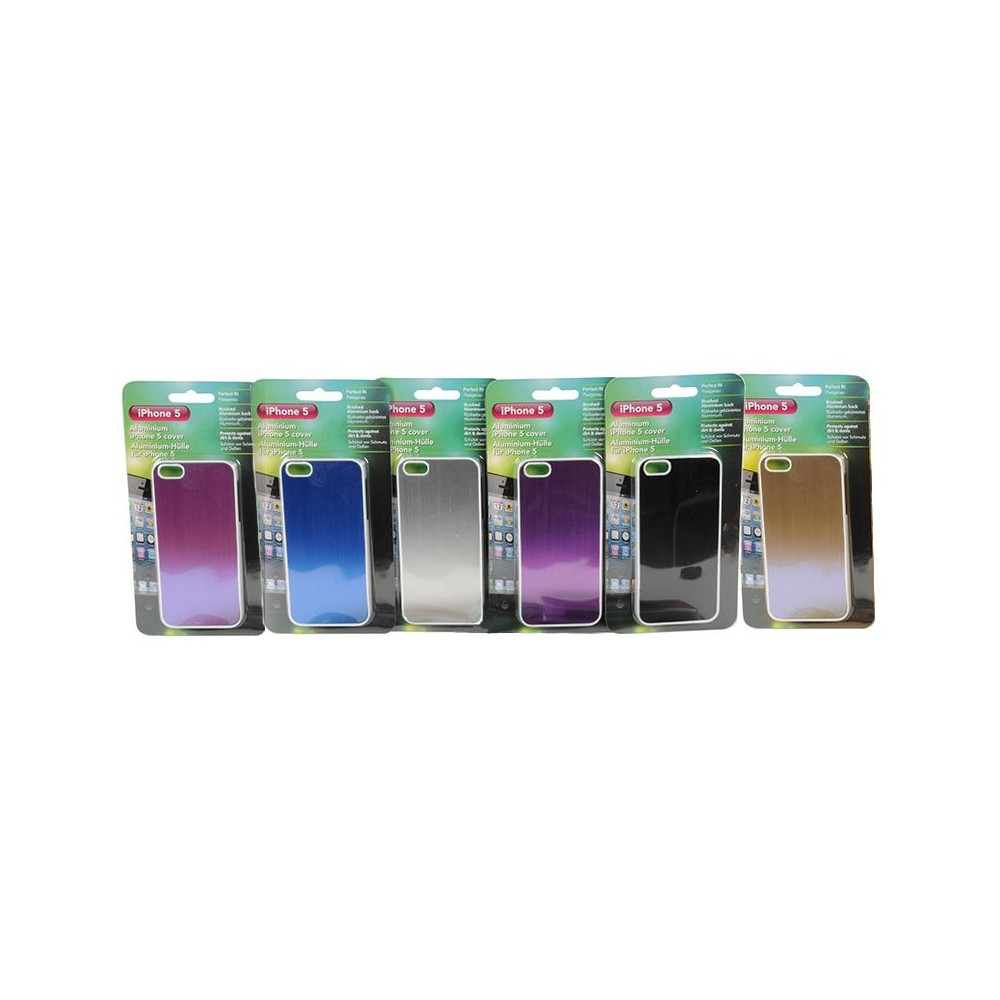 Cover Custodia per iPhone 5 in alluminio disponibile in 6 colori.