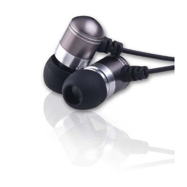 Cuffie Auricolari metallici in-ear 3,5 mm con convertitore di frequenza Grundig.