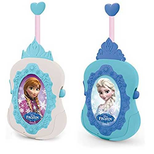 Frozen Walkie talkie con Spia LED ed Interruttore on e Off IMC Toys.